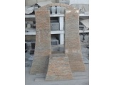 Raw Silk Granite Monument Design